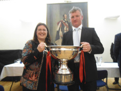 Kellie and the Sam Maguire Cup 2013