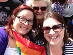 Kellie at Pride