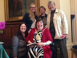 Alliance Councillors and Ann Collins