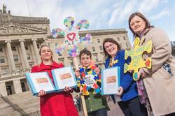 Autism petition Sinead, Lorraine Miel