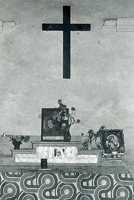 Foto 41 - 1976. Interni Chiesetta Madonn