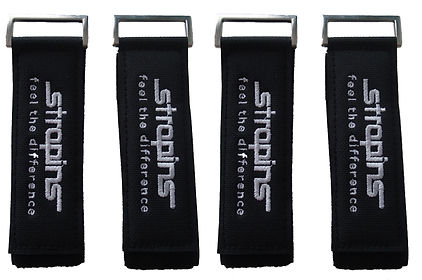 Black Strapins Ultimate Snowboarding Control