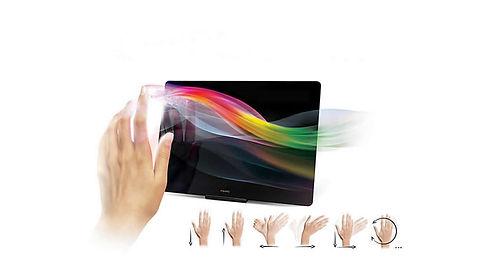 Swipe/Gestures control