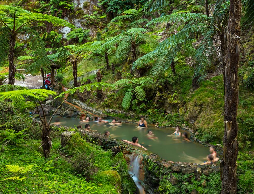 Caldeira Velha, Natural Spa, Sao Miguel,