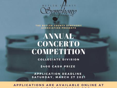2021 Collegiate Concerto Competition