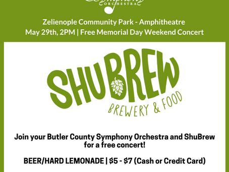 ShuBrew joins BCSO for Zelienople Community Concert