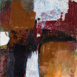 Heimkehrer, Acryl auf LW,120 x 120  cm