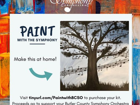 Paint with the Symphony Fundraiser!