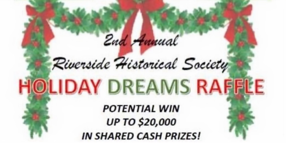 Christmas in Riverside w/ 2nd annual raffle pull!