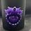 Thumbnail: Black Glass Candle Medium Demons Horn