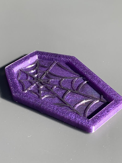 Resin Coffin Trinket Tray, small