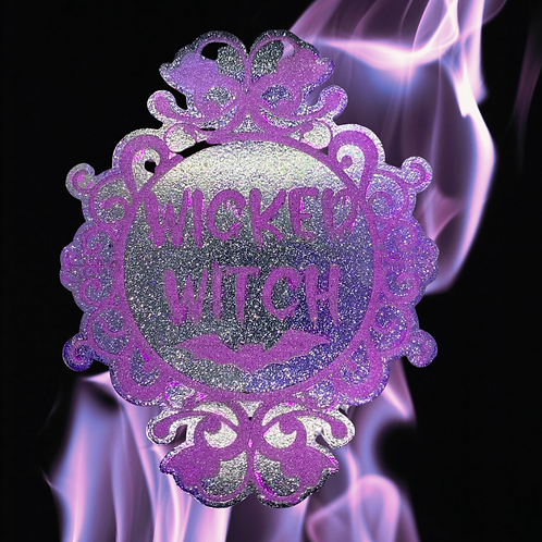 Wicked Witch Resin Candle Plate