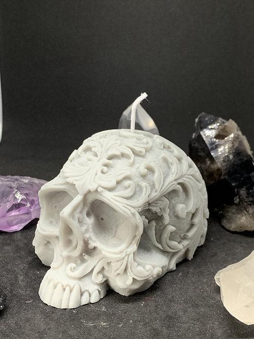 Skull Candle Filigree