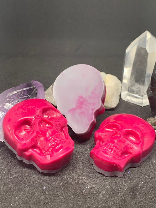 Skull Wax Melts Set of 3