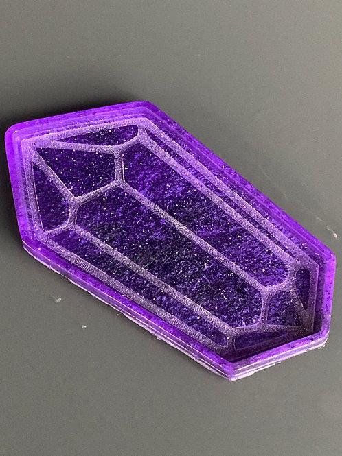 Resin Gemstone Candle Board