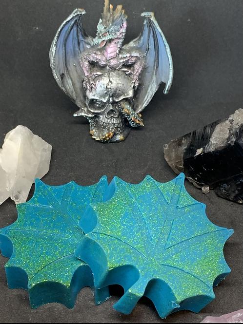 Leaf Pearlescent Wax Melts Set of 2