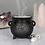 Thumbnail: Triple Moon Cauldron Incense Cone Holder