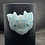 Thumbnail: Black Glass Candle Medium Dragon head