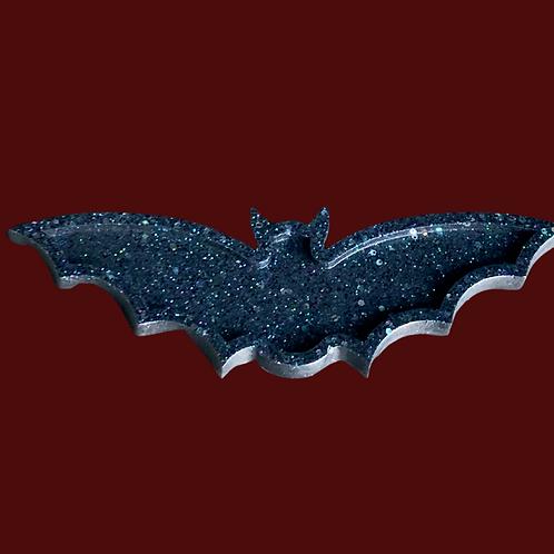 Bat Resin Candle Tray
