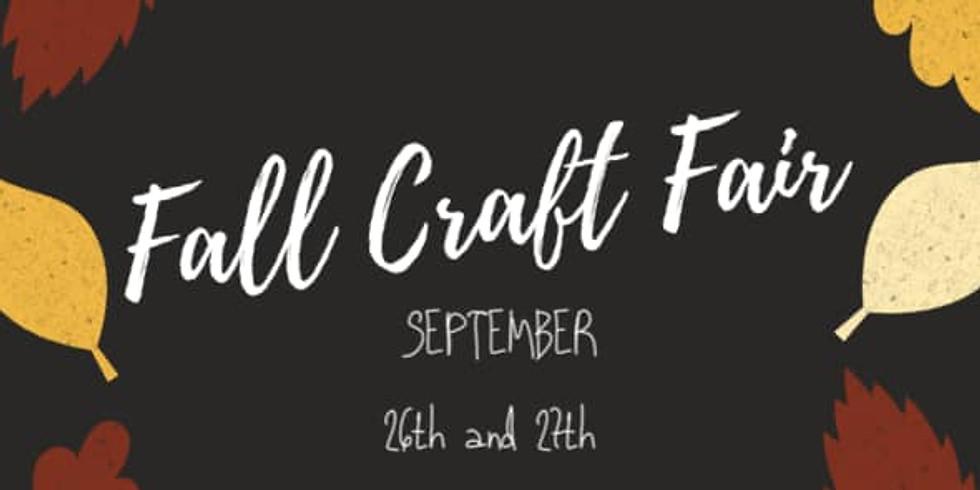 Fall / Autumn Craft Fair From Home