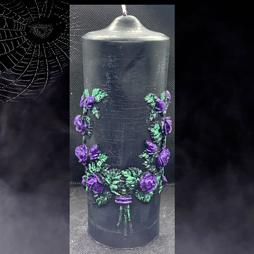 Mystical Range - Bat Wings Candle