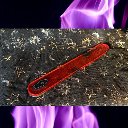 Handmade Resin Incense Holder