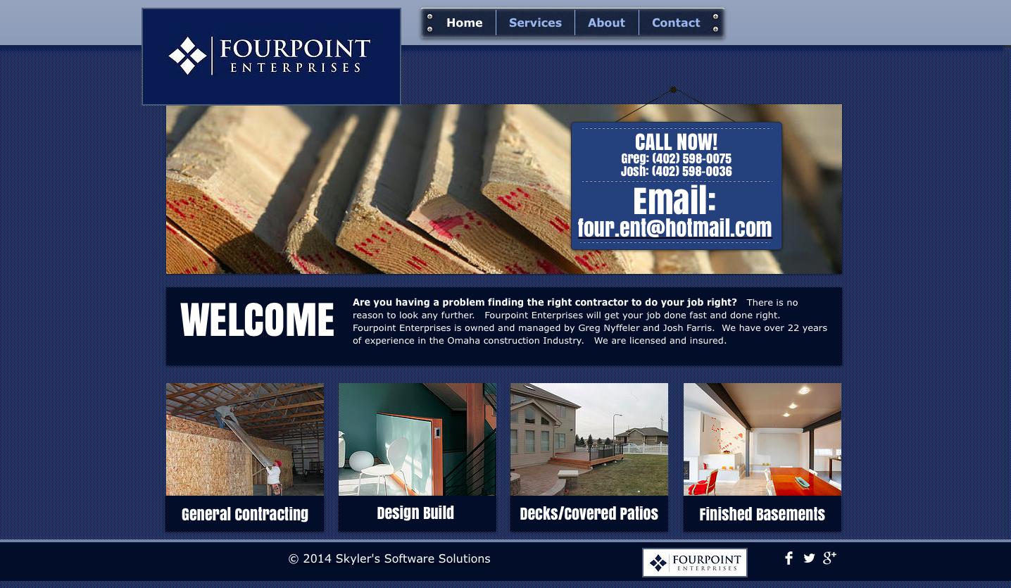 Website Design - FourPoint Enterprises