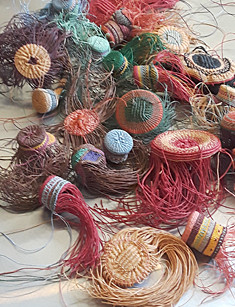Lois Russel Basket Making