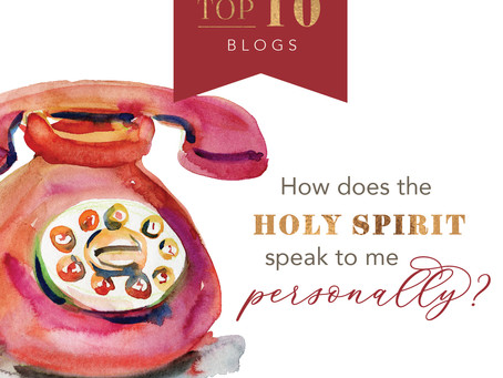 How Does the Holy Spirit Speak Personally to Me?