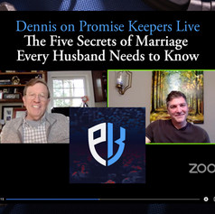 Dennis on Promise Keepers Live