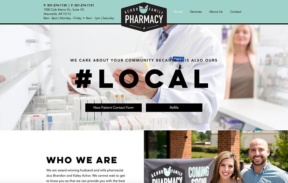 Achor Family Pharmacy Website.png