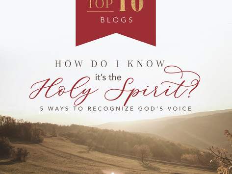How Do I Know It's the Holy Spirit? 5 Ways to Recognize God's Voice