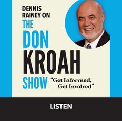 The Don Kroah Show Button