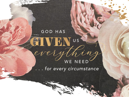 God Has Given Us Everything We Need … for Every Circumstance