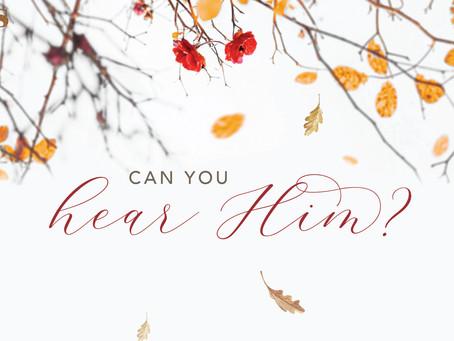 Can You Hear Him?