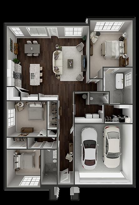 3 Bed 2 Bath Floor Plan.png