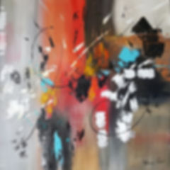 CREPUSCULE Florenc Prdat Artiste Peintre