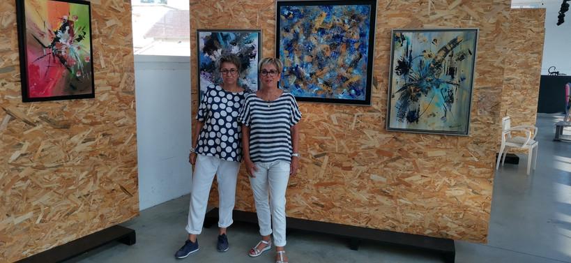 Avec Christelle CAPY Fondatrice de Paupart