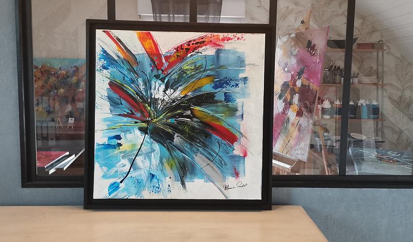 """Ara#Plumes#art""""collection#exposition""""peinture acrylique#artiste peintre#perroquets#Amérique du sud"""