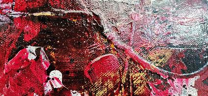 """toile#artiste""""acrylique""""exposition#art#vin#rouge#peintre#"""