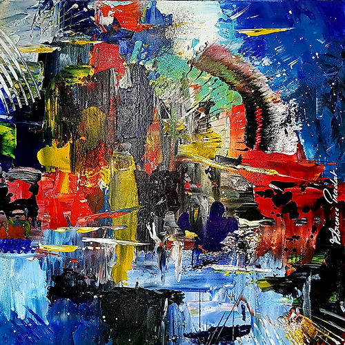 NEVADA Flrence Pradat Artiste Peintre