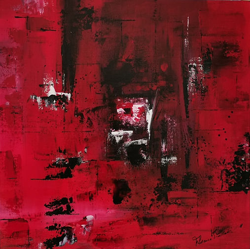Rouge profond, intense,