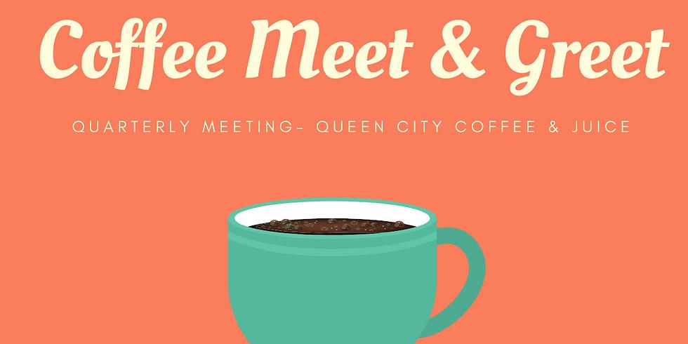Coffee Meet & Greet / Quarterly Planning Meeting