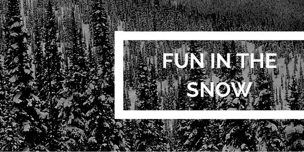 Self Care Saturday Snow Shoeing