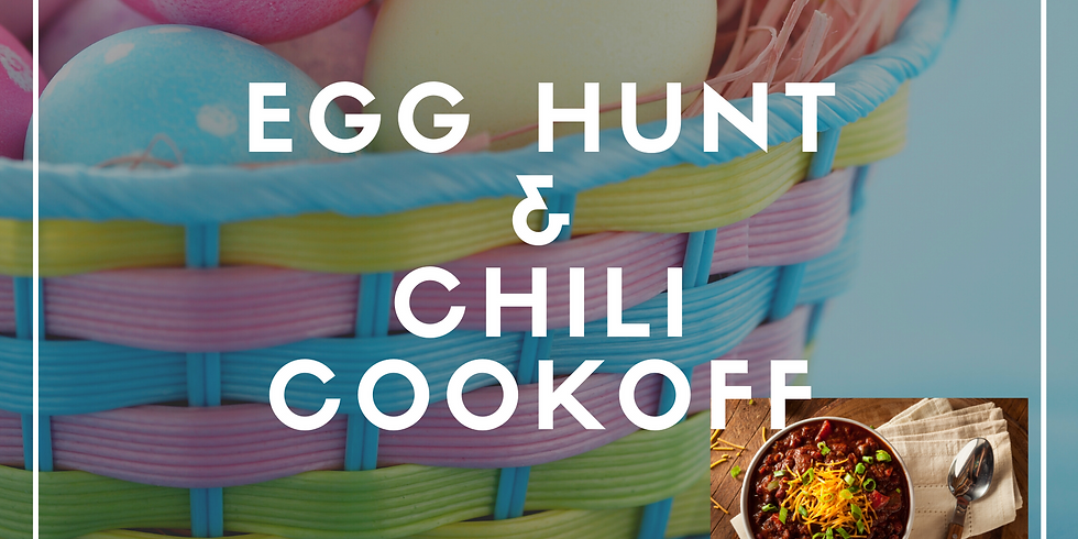 Annual Easter Egg Hunt and Chili Cookoff!