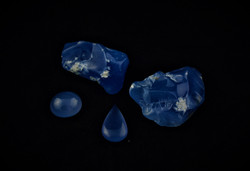 calcedonio blu
