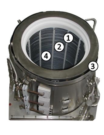 TEL Diffusion Heater Element Refurbishment