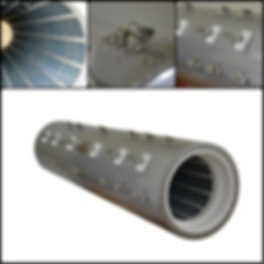 Horizontal Diffusion Heater