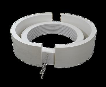 Ceramic Vacuum Formed Cylinder Heater