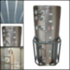 Vertical Diffusion Heater
